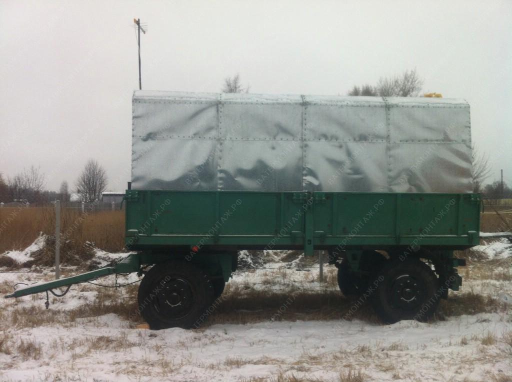 Прицепной вагон-дом, для проживания буровой бригады.