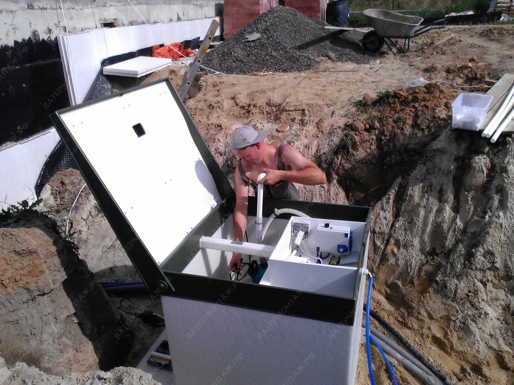 канализация для частного дома цена