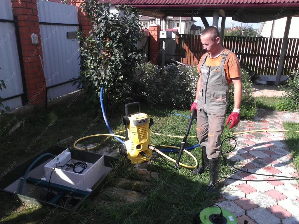 канализация в частный дом