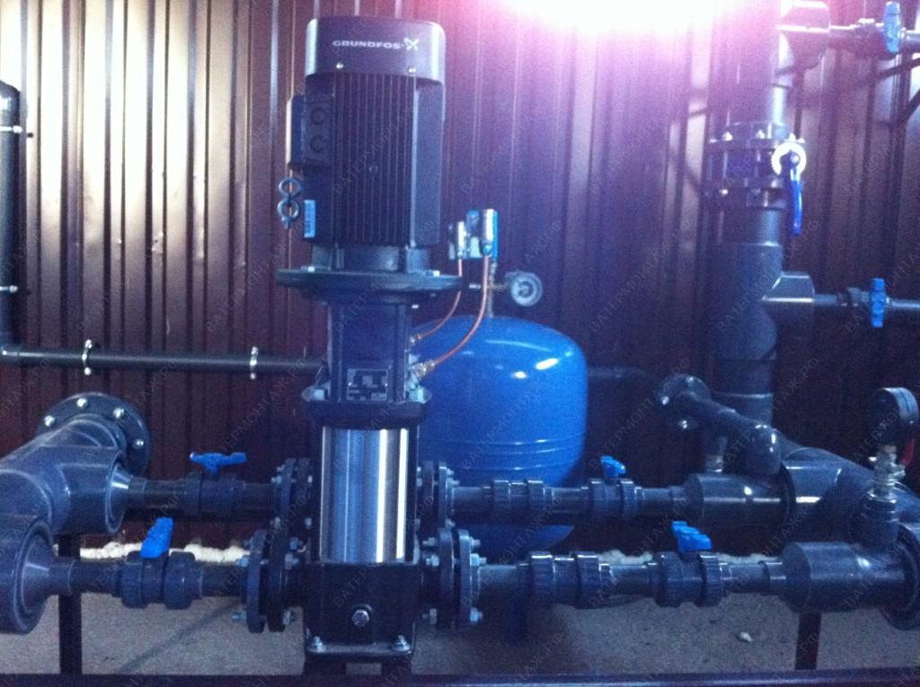 проект водозаборного узла