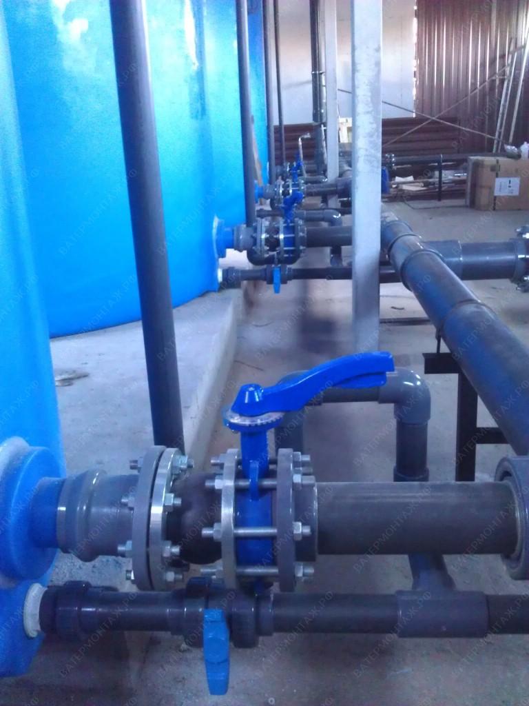 Водозаборных узлов