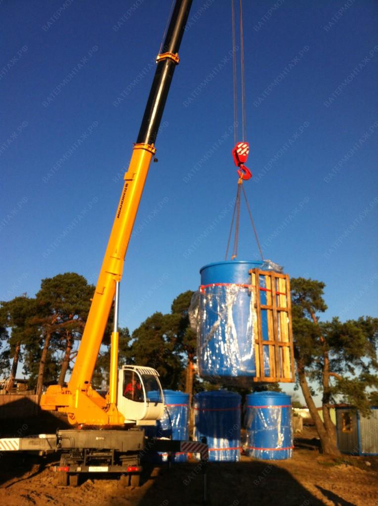 строительство водозаборных узлов