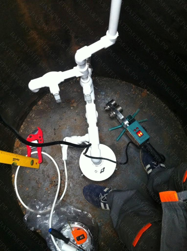 Оборудование скважины на даче своими руками.