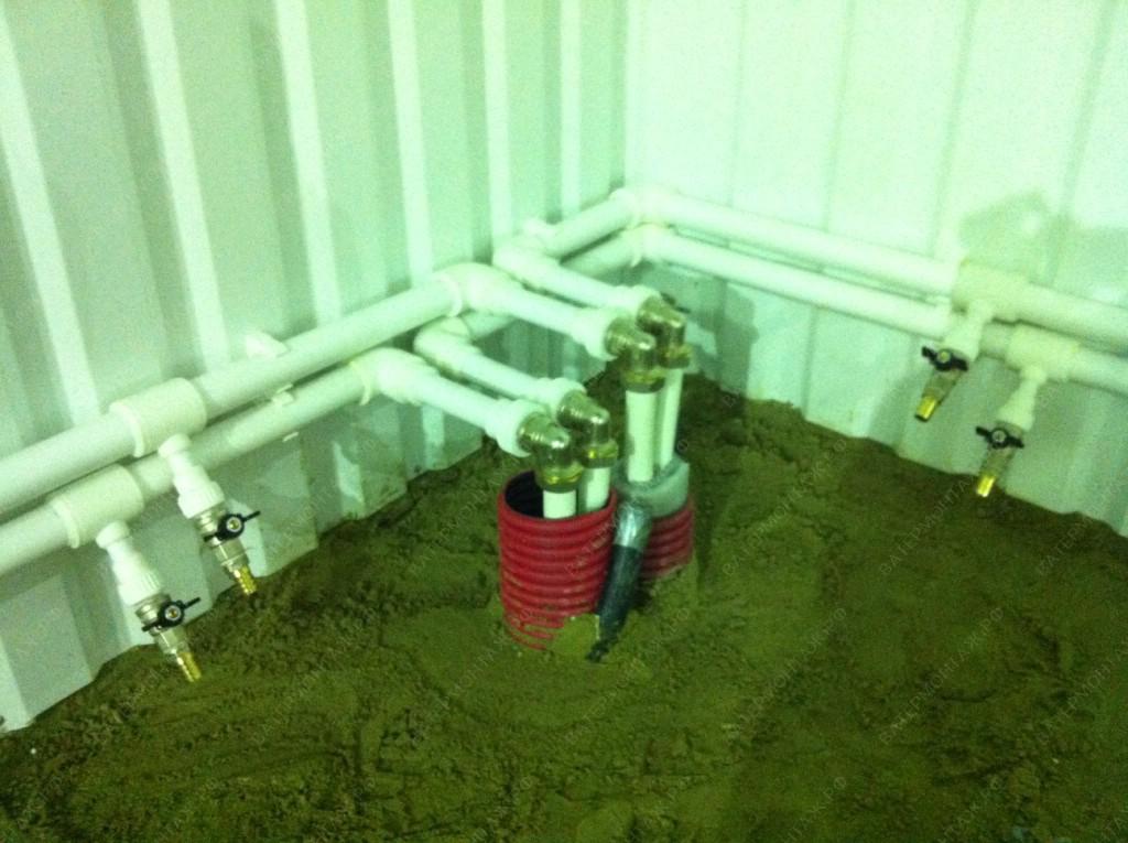 монтаж отопления в частном доме под ключ