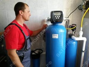 сервисное обслуживание водоочистки