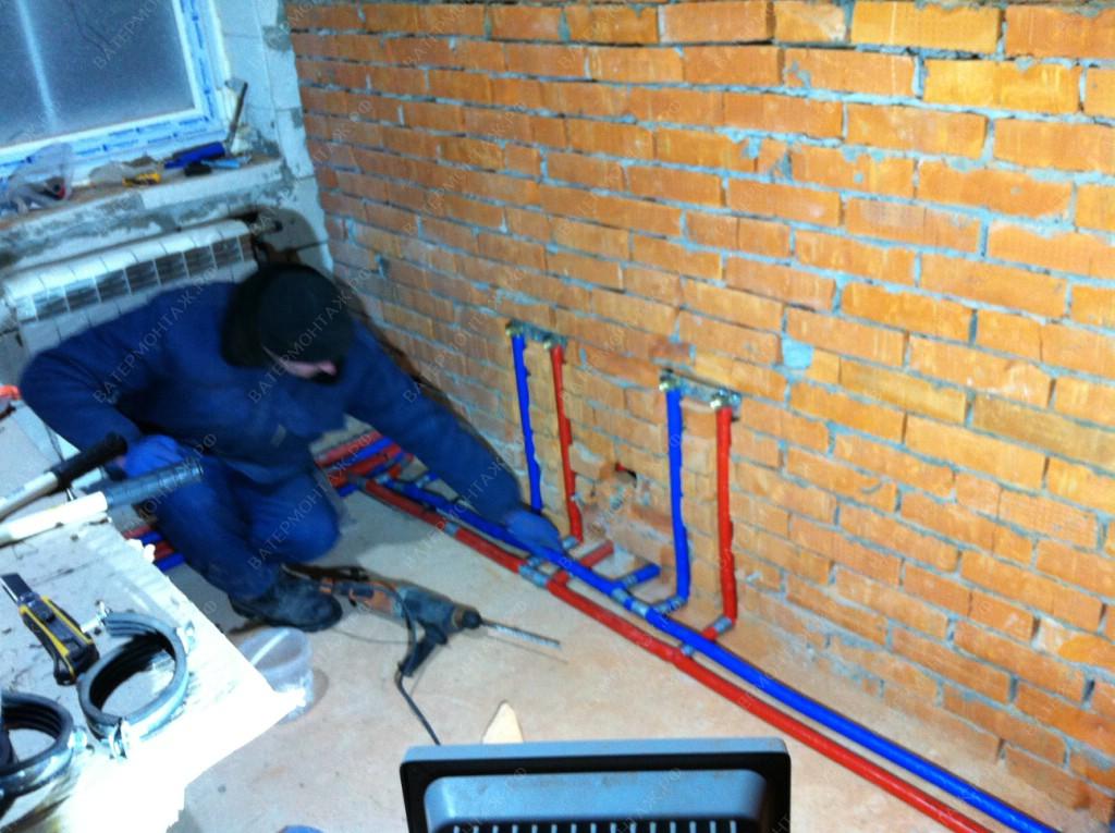 утепление водоснабжение частного дома