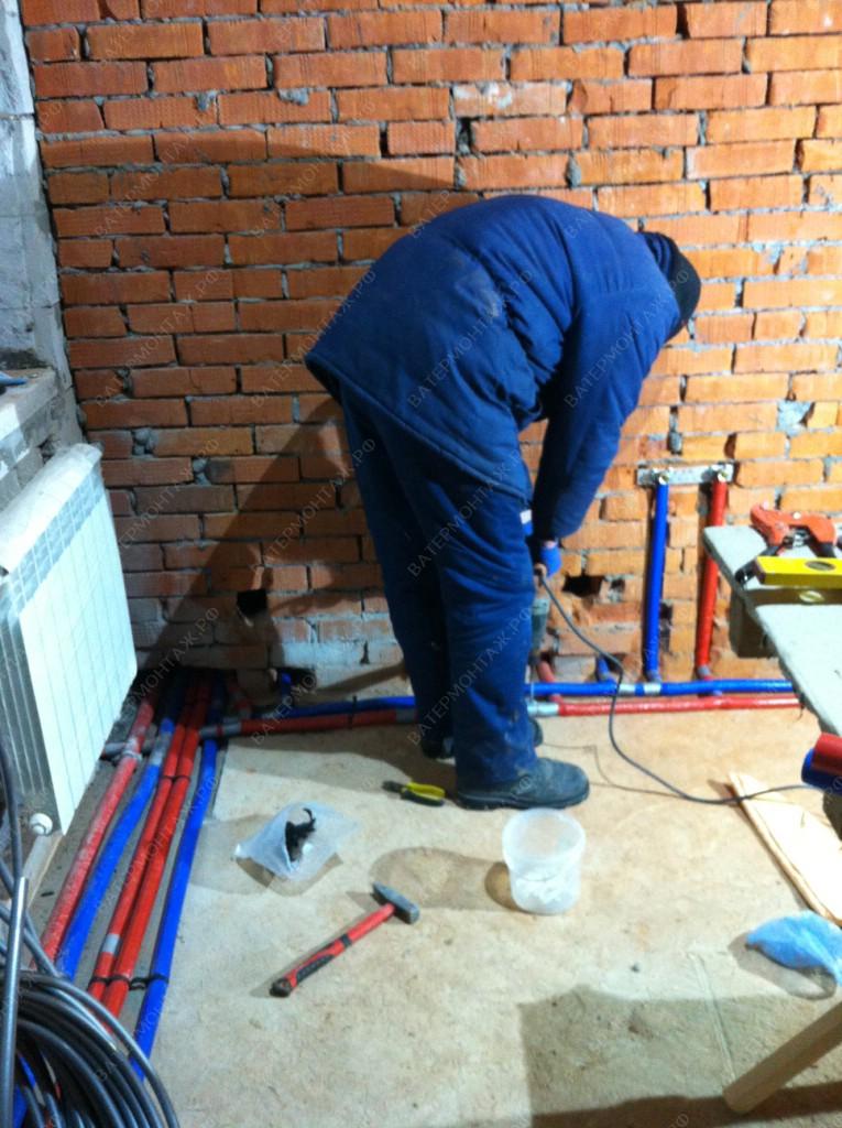 водоснабжение частного дома из колодца под ключ