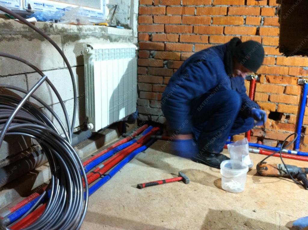 водоснабжение отопление частного дома под ключ
