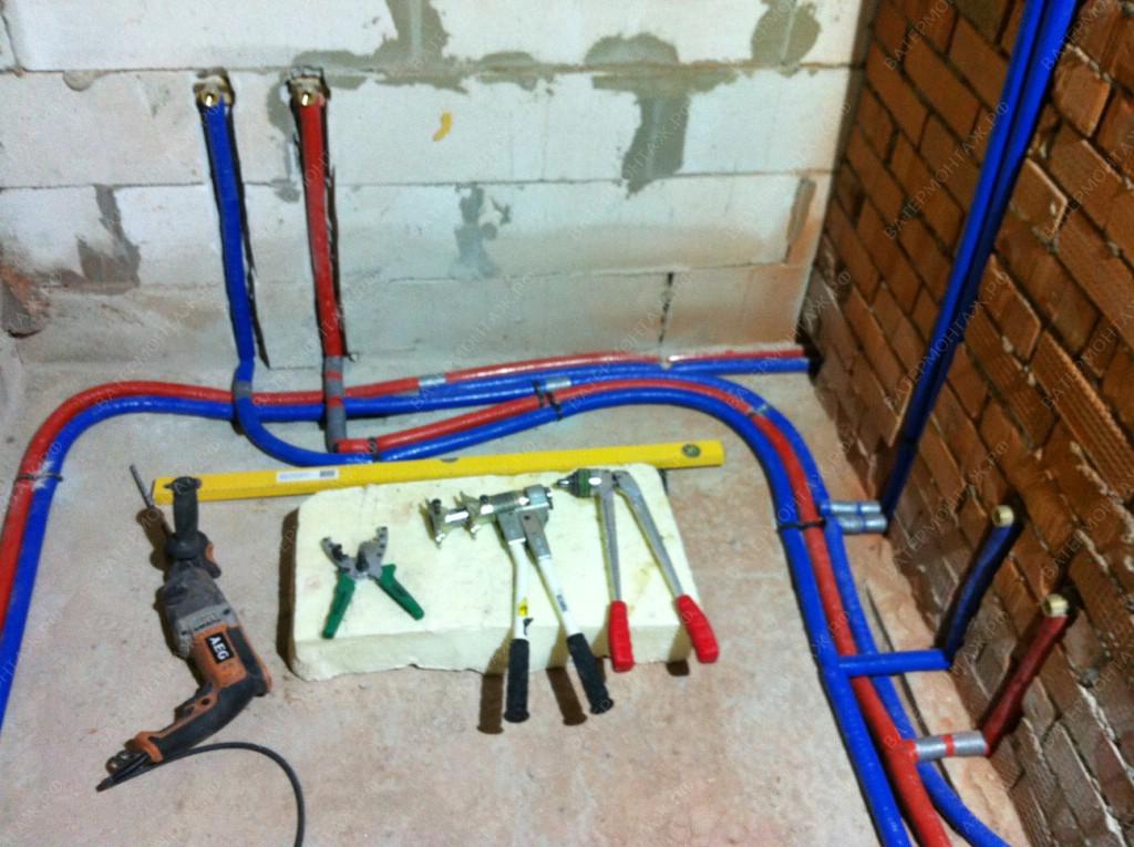 устройство водоснабжения в частном доме