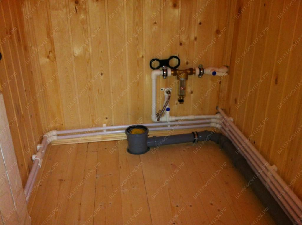 система водоснабжения частного дома из колодца