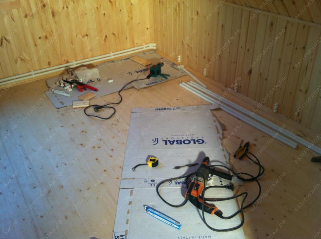 ремонт водоснабжения частного дома
