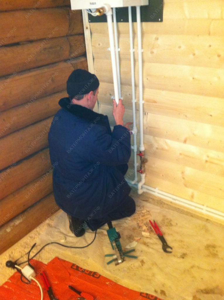 водоснабжение и отопление частного дома