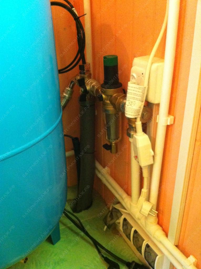 водоснабжение загородного дома оборудование