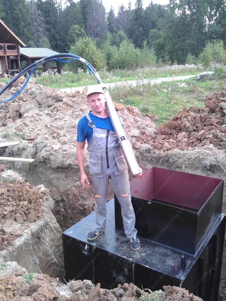 Обустройство скважин на воду в коттеджном поселке
