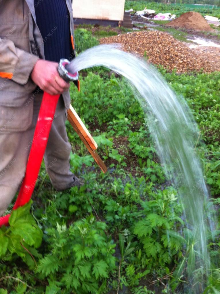 Обустройство скважин под воду