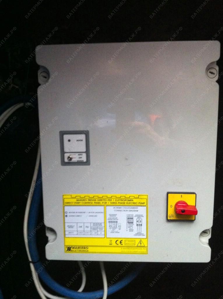 Автоматика, шкаф управления Maniero обеспечивает надежную защиту электродвигателя скважинного насоса