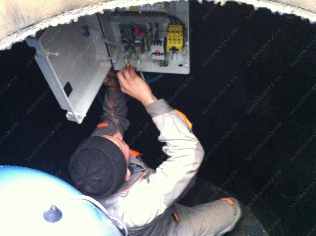 Специалисты по настройке автоматики, шкаф управления Maniero погружного скважинного насоса