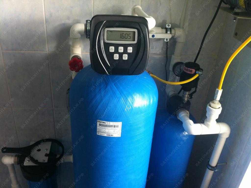 очистка воды в доме из скважины