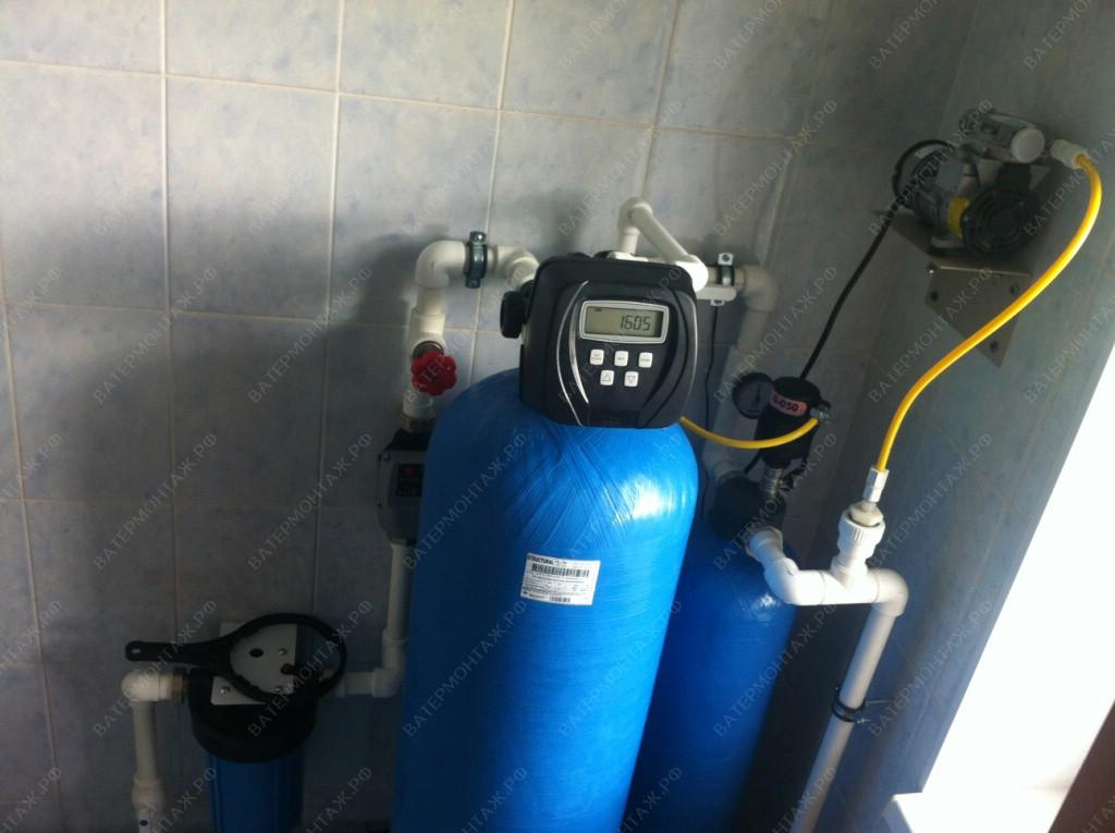 фильтра очистка воды из скважины от железа