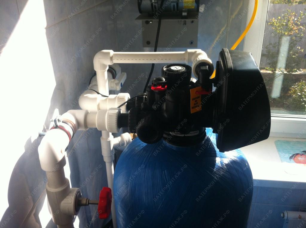 система очистки воды от железа из скважины