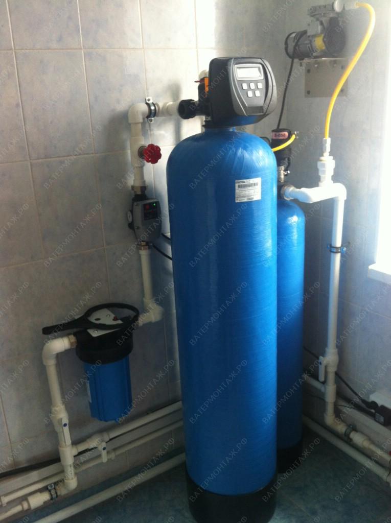 очистка воды от извести из скважины