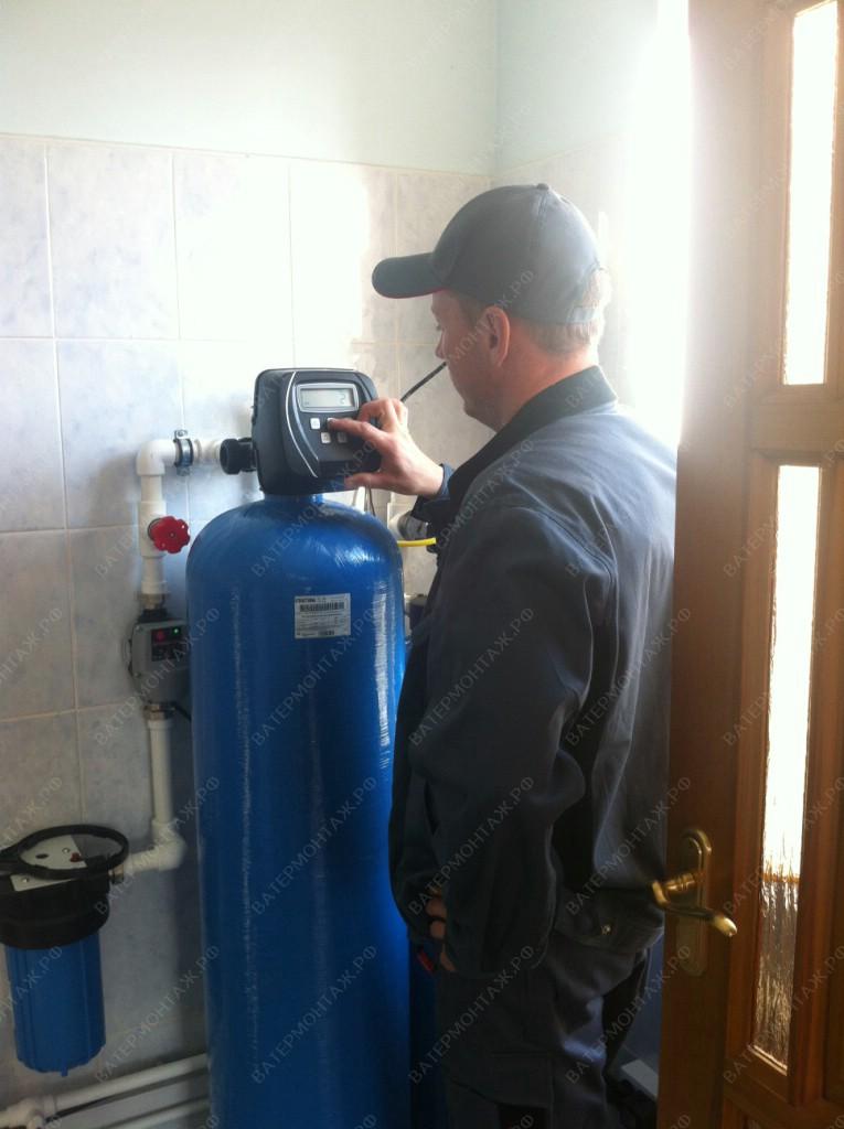 очистка жесткой воды из скважины
