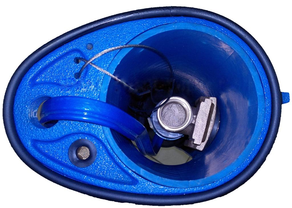 Обустройство скважины с установкой скважинного адаптера.