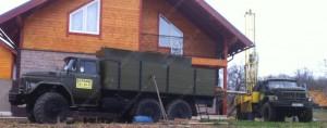 Бурение скважин на воду в Московской области.